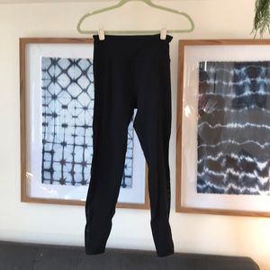 Lorna Jane high waisted leggings with mesh panels